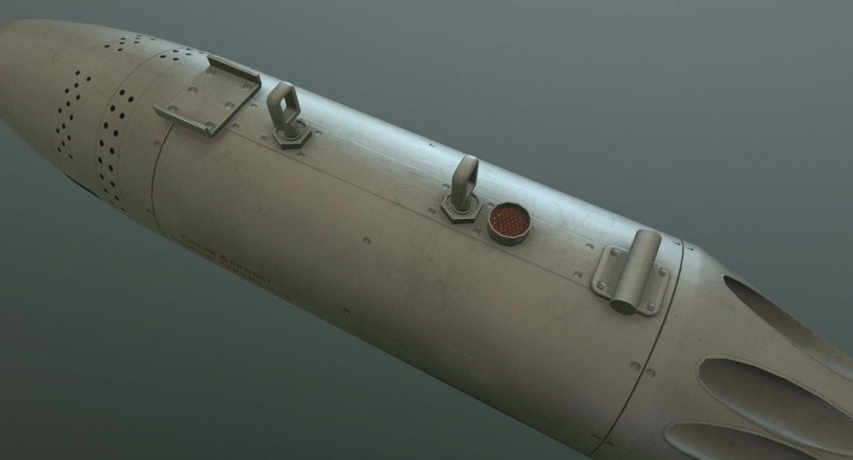 rocket launcher ub-16-57um 3d model 3ds max fbx obj 302736