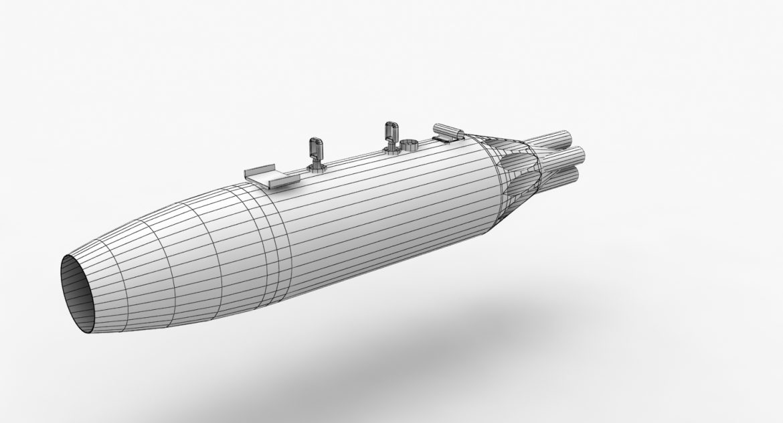 rocket launcher ub-16-57um 3d model 3ds max fbx obj 302742