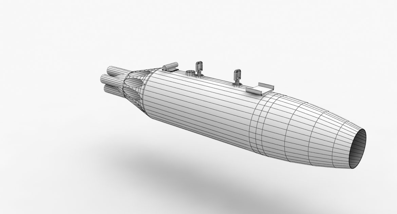rocket launcher ub-16-57um 3d model 3ds max fbx obj 302743