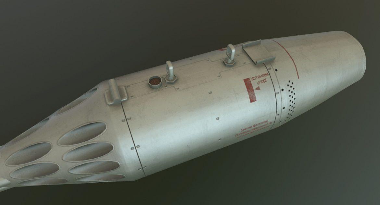 rocket launcher ub-32a-24 3d model 3ds max fbx obj 302821