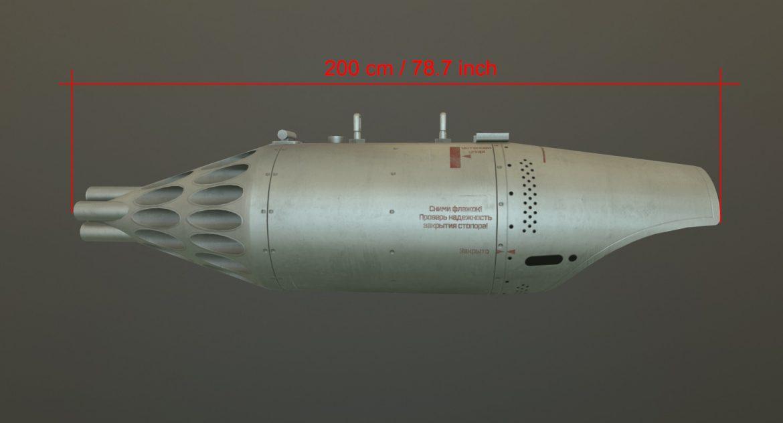 rocket launcher ub-32a-24 3d model 3ds max fbx obj 302826