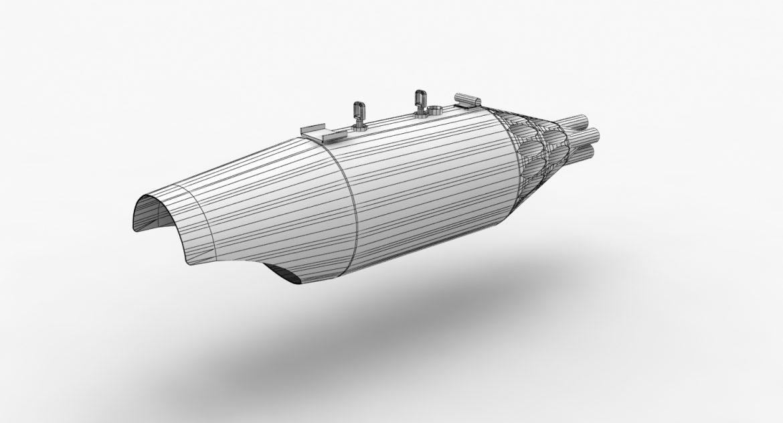 rocket launcher ub-32a-24 3d model 3ds max fbx obj 302828
