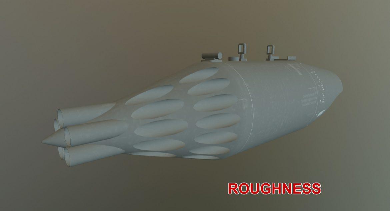 rocket launcher ub-32a-24 3d model 3ds max fbx obj 302838