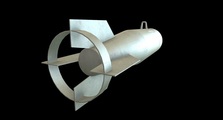 bomb p-50t 3d model 3ds max fbx obj 303019