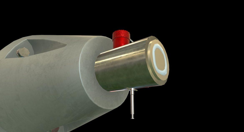 bomb p-50t 3d model 3ds max fbx obj 303021