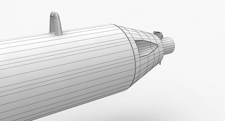 bomb p-50t 3d model 3ds max fbx obj 303027