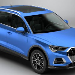 Audi q3 2019 3d model 3ds max dxf c4d le do thoil 303206