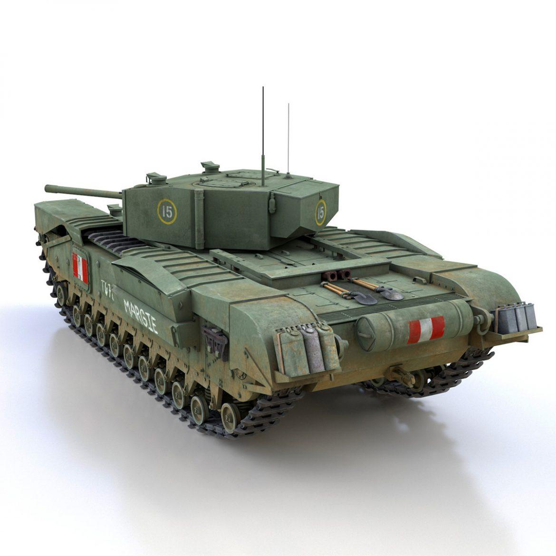 churchill mk.iii – margie 3d model 3ds c4d fbx lwo lw lws obj 303291
