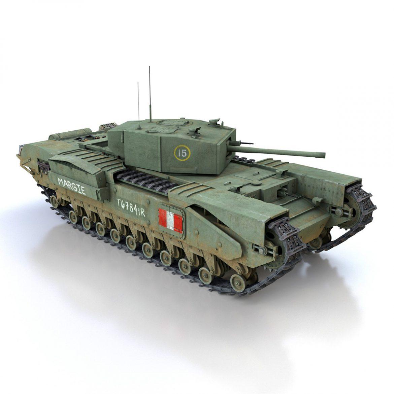churchill mk.iii – margie 3d model 3ds c4d fbx lwo lw lws obj 303294
