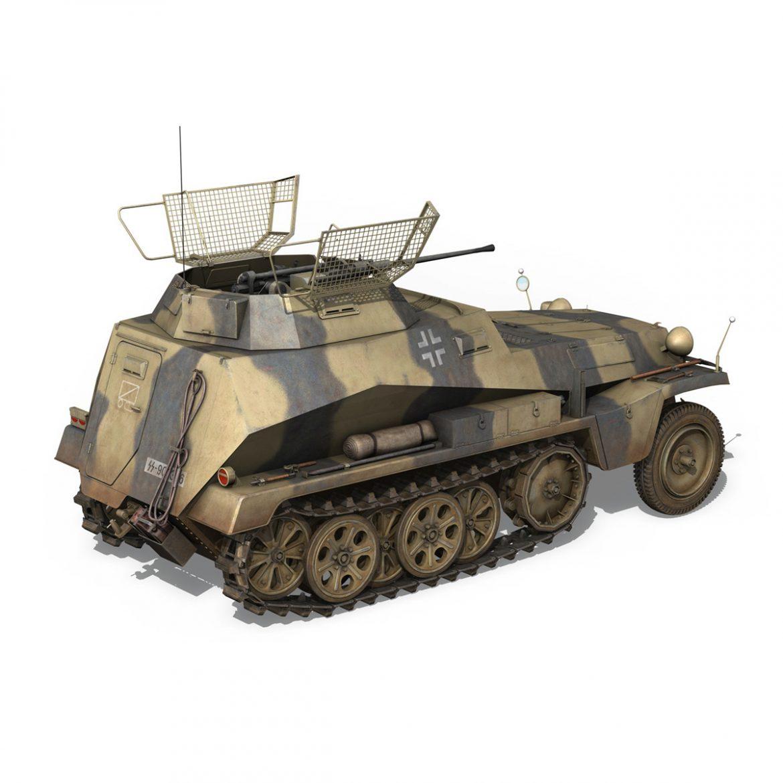 sd.kfz 250/9 – reconnaissance halftruck – nordland 3d model 3ds c4d fbx lwo lw lws obj 303311