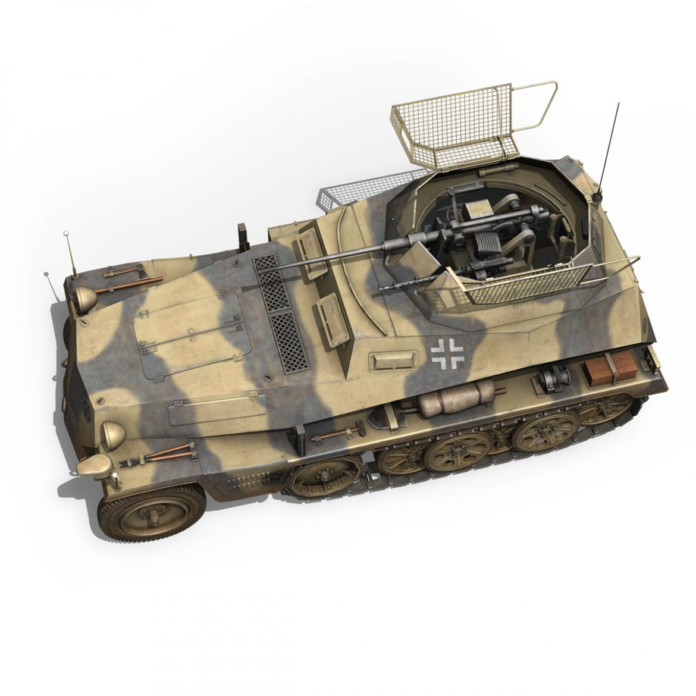 sd.kfz 250/9 – reconnaissance halftruck – nordland 3d model 3ds c4d fbx lwo lw lws obj 303314