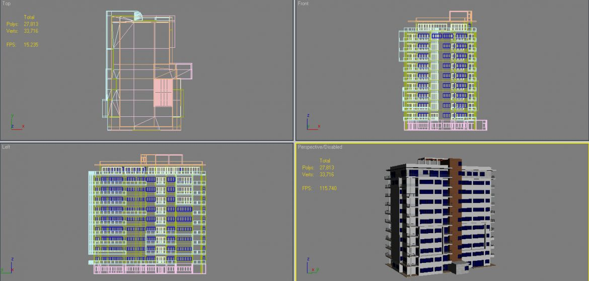 apartment building_61 3d model 3ds blend c4d fbx max ds max plugin ma mb obj 303423