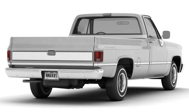 generic pickup truck 1 3d model 3ds max fbx obj 303438