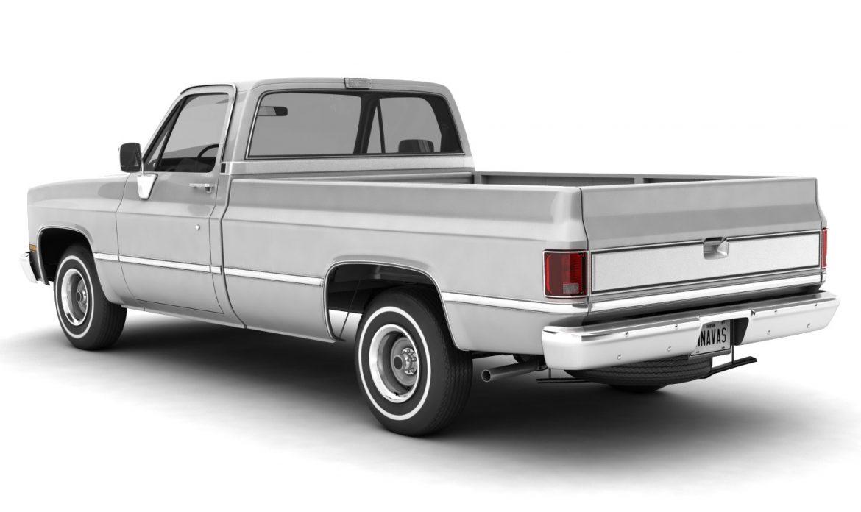 generic pickup truck 1 3d model 3ds max fbx obj 303440