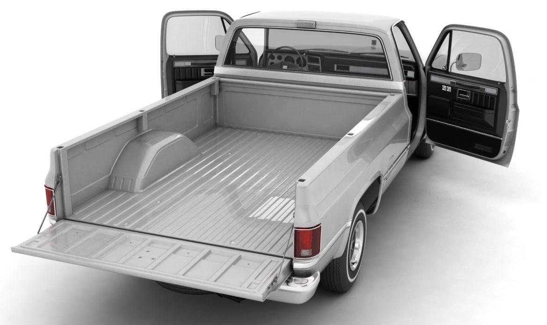 generic pickup truck 1 3d model 3ds max fbx obj 303441