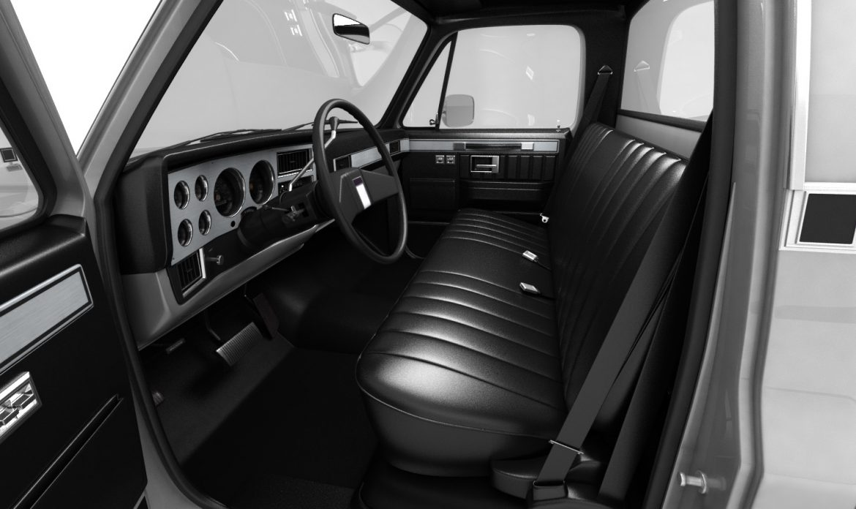 generic pickup truck 1 3d model 3ds max fbx obj 303443