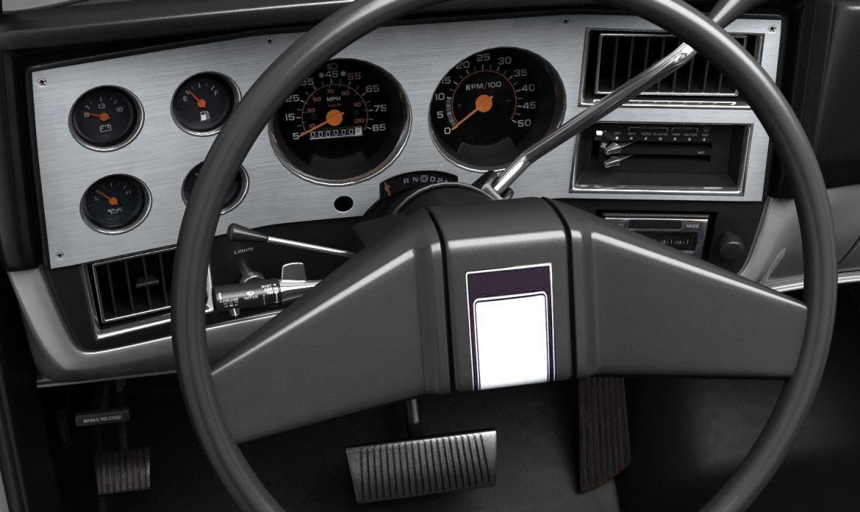 generic pickup truck 1 3d model 3ds max fbx obj 303445