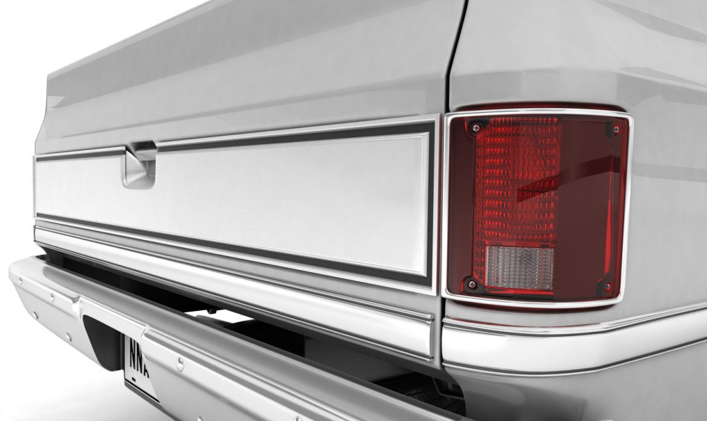 generic pickup truck 1 3d model 3ds max fbx obj 303447