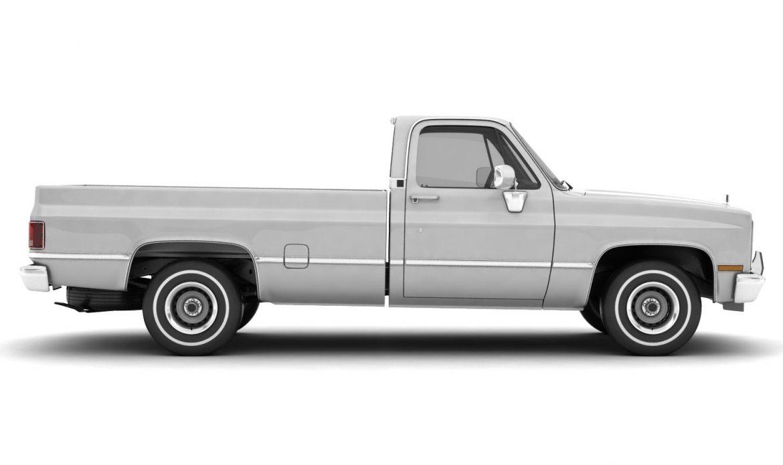 generic pickup truck 1 3d model 3ds max fbx obj 303448