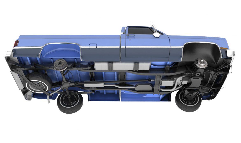 generic pickup truck 3 3d model max 3ds obj fbx jpeg 303469