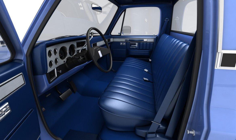 generic pickup truck 3 3d model max 3ds obj fbx jpeg 303473