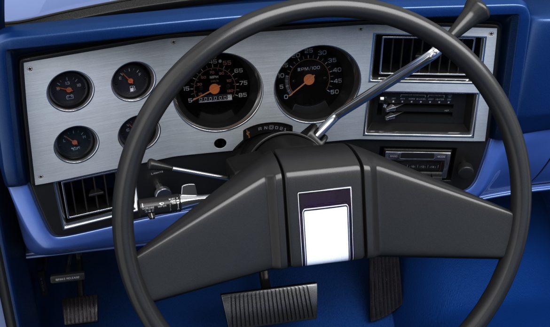 generic pickup truck 3 3d model max 3ds obj fbx jpeg 303475
