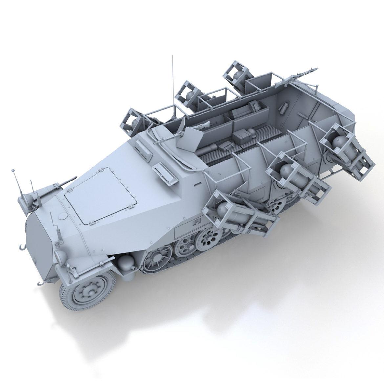 sdkfz 251 – ausf.d – stuka zu fuss 3d model 3ds c4d fbx lwo lw lws obj 303588