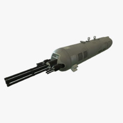 gun pod guv-8700 3d model ther obj max 3ds 303742