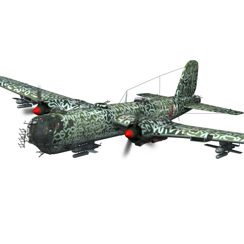 heinkel he-177 a-5 - greif - Model 6njm 3d 3ds c4d fbx lwo lw lw obj 303995