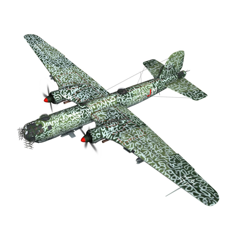heinkel he-177 a-5 - greif - Model 6njm 3d 3ds c4d fbx lwo lw lw obj 303996