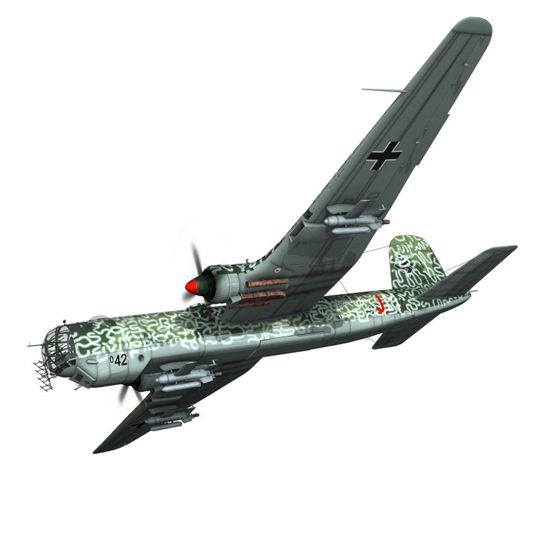 heinkel he-177 a-5 - greif - Model 6njm 3d 3ds c4d fbx lwo lw lw obj 303997