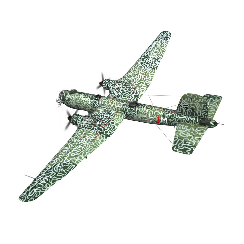 heinkel he-177 a-5 - greif - Model 6njm 3d 3ds c4d fbx lwo lw lw obj 303998