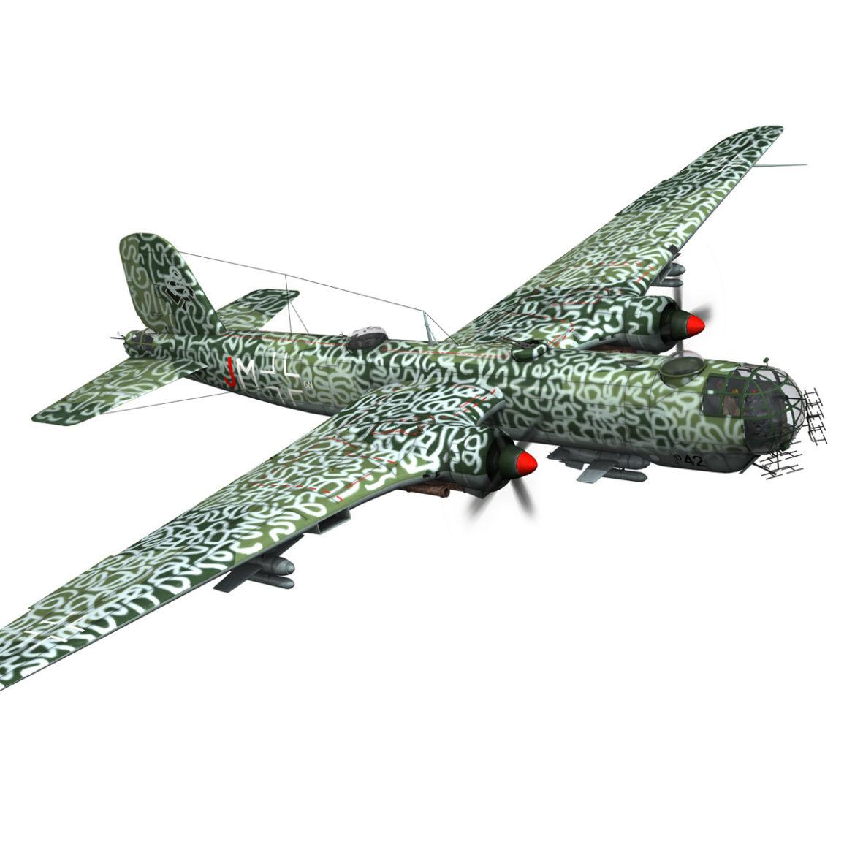 heinkel he-177 a-5 - greif - Model 6njm 3d 3ds c4d fbx lwo lw lw obj 304001