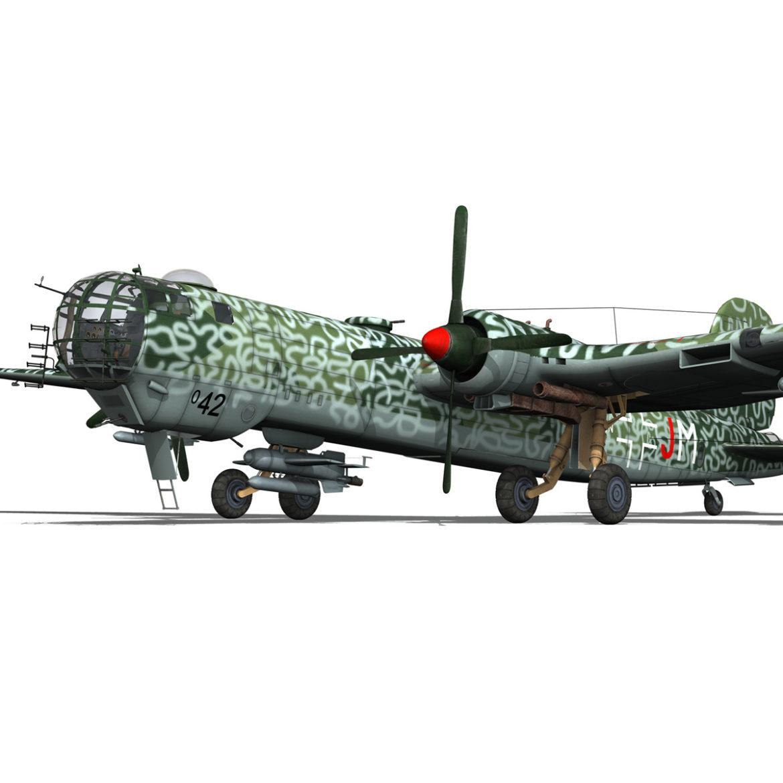 heinkel he-177 a-5 - greif - Model 6njm 3d 3ds c4d fbx lwo lw lw obj 304002