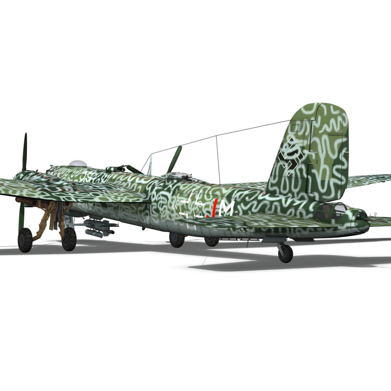 heinkel he-177 a-5 - greif - Model 6njm 3d 3ds c4d fbx lwo lw lw obj 304004