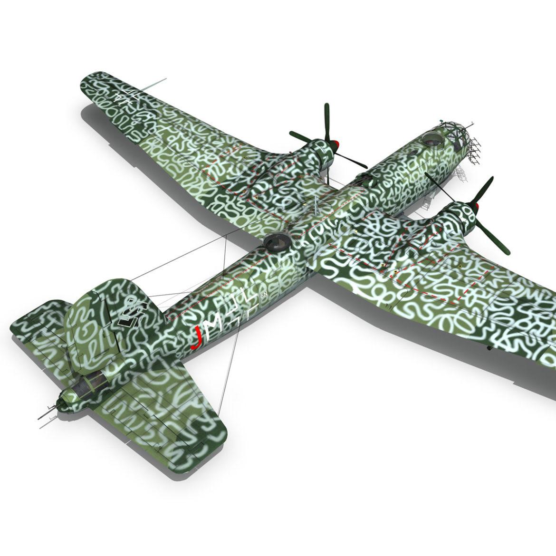 heinkel he-177 a-5 - greif - Model 6njm 3d 3ds c4d fbx lwo lw lw obj 304005