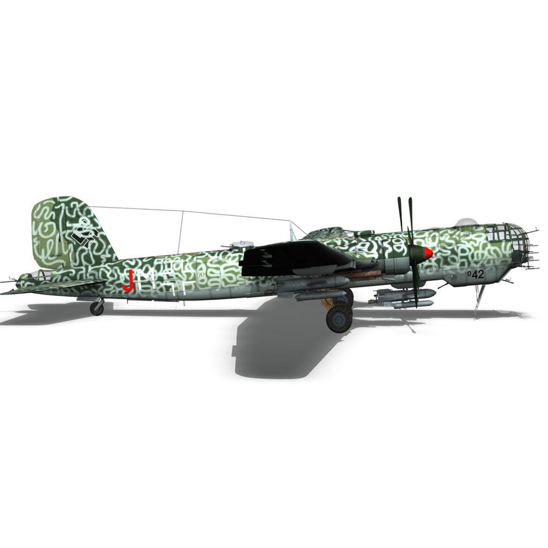 heinkel he-177 a-5 - greif - Model 6njm 3d 3ds c4d fbx lwo lw lw obj 304006