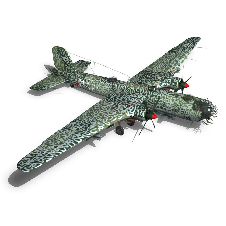 heinkel he-177 a-5 - greif - Model 6njm 3d 3ds c4d fbx lwo lw lw obj 304007