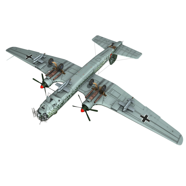 heinkel he-177 a-5 - greif - Model 6njm 3d 3ds c4d fbx lwo lw lw obj 304009