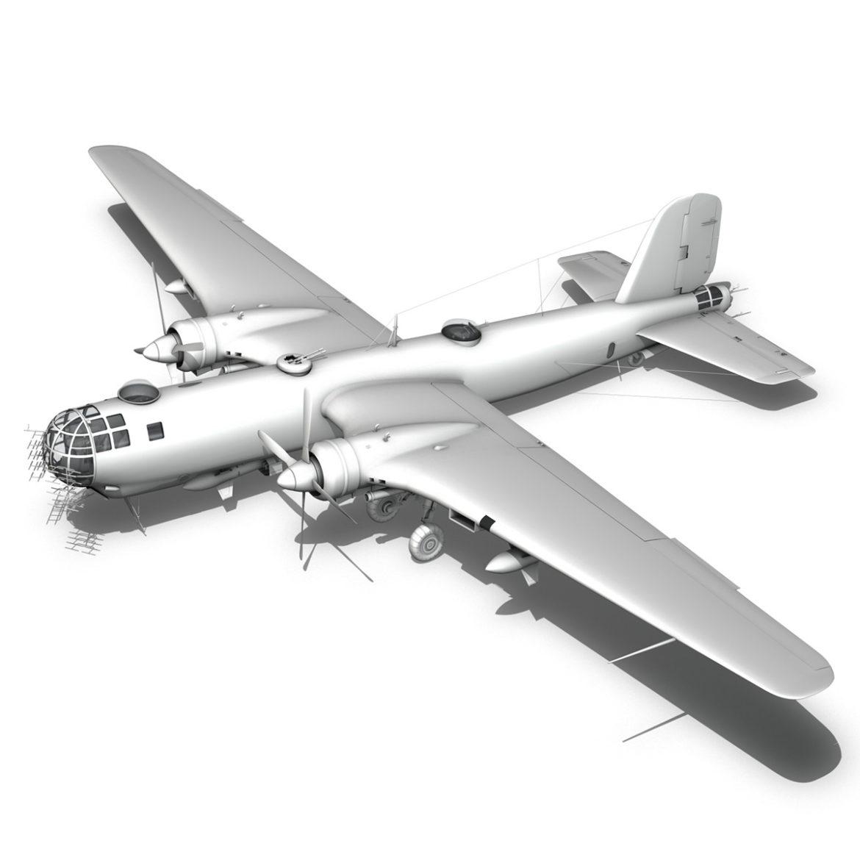 heinkel he-177 a-5 - greif - Model 6njm 3d 3ds c4d fbx lwo lw lw obj 304010