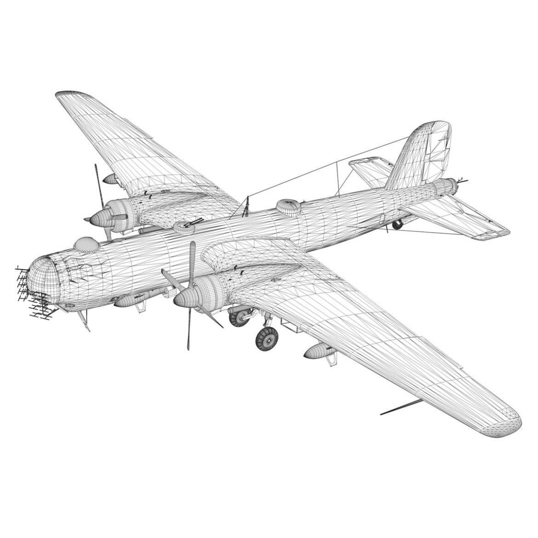 heinkel he-177 a-5 - greif - Model 6njm 3d 3ds c4d fbx lwo lw lw obj 304011