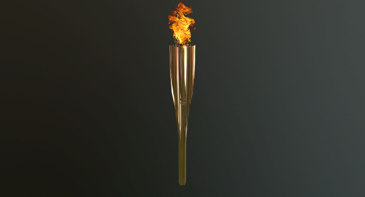 tokyo 2020 olympic torch 3d model ther obj max fbx 3ds 304243