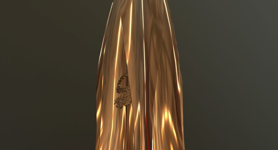 tokyo 2020 olympic torch 3d model ther obj max fbx 3ds 304249