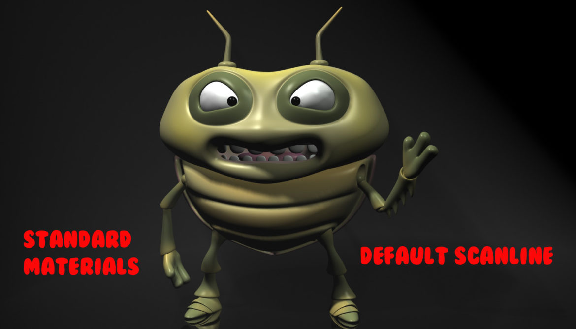 cartoon bug rigged 3d model 3ds max fbx  obj 304328