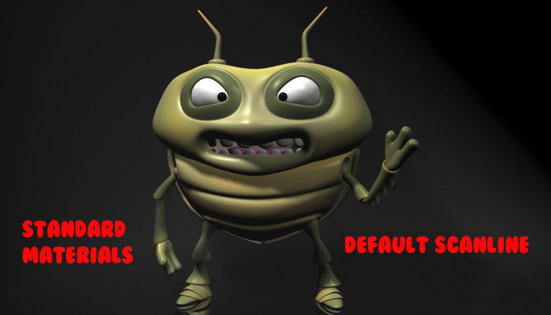 cartoon bug rigged 3d model 3ds max fbx obj stl 304328
