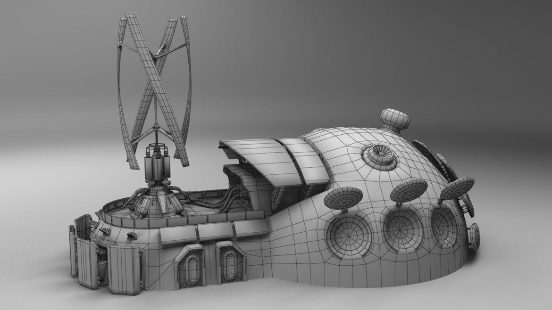 sci-fi building 1901 electric generator 3d model obj max fbx obj stl 304370