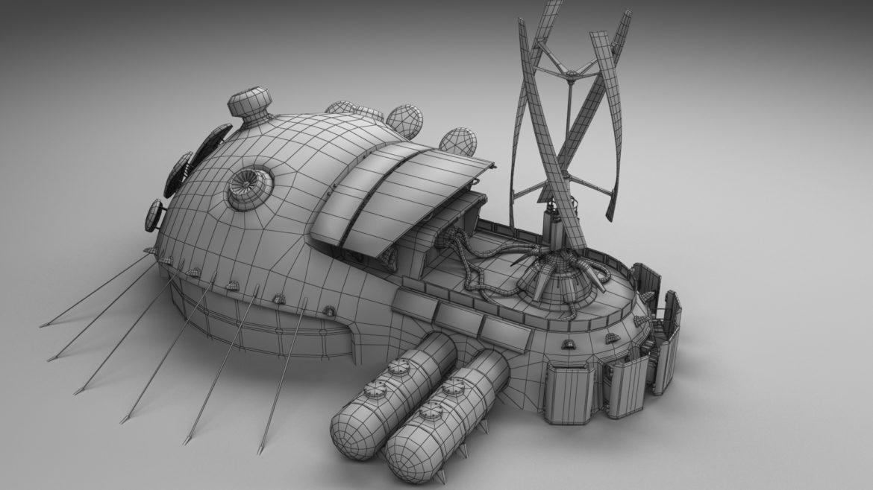 sci-fi building 1901 electric generator 3d model obj max fbx obj stl 304371