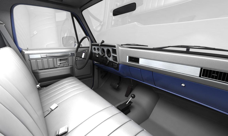 generic 4wd pickup truck 4 3d model max 3ds obj fbx jpeg 304505