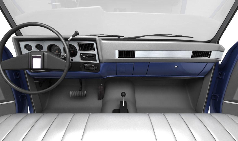 generic 4wd pickup truck 4 3d model max 3ds obj fbx jpeg 304506