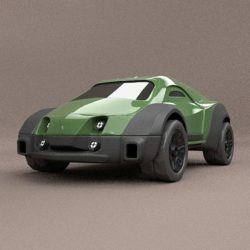 original armox military vehicle concept 3d model obj blend fbx lwo lw lws 304579